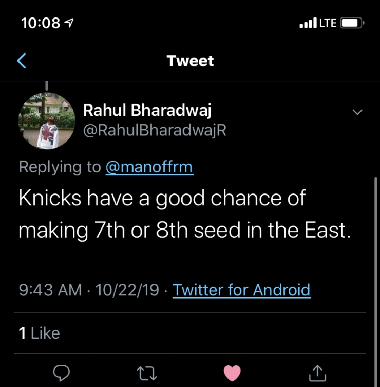 rahul prediction